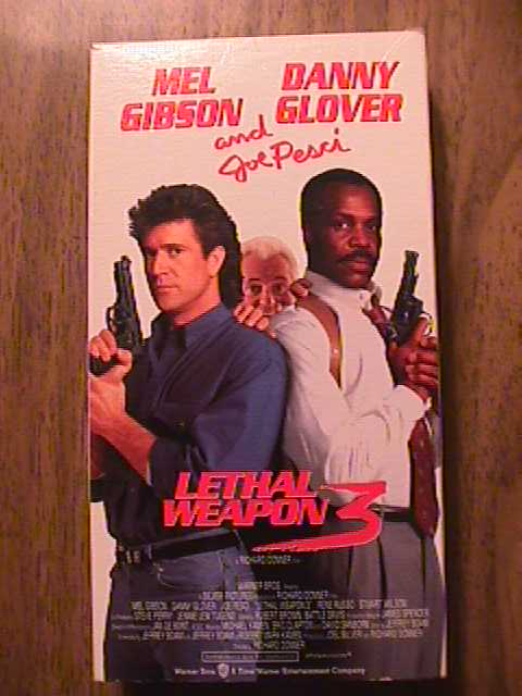mel gibson lethal weapon 3. Lethal Weapon 3 VHS. Grade: Used but not abused, in good shape.